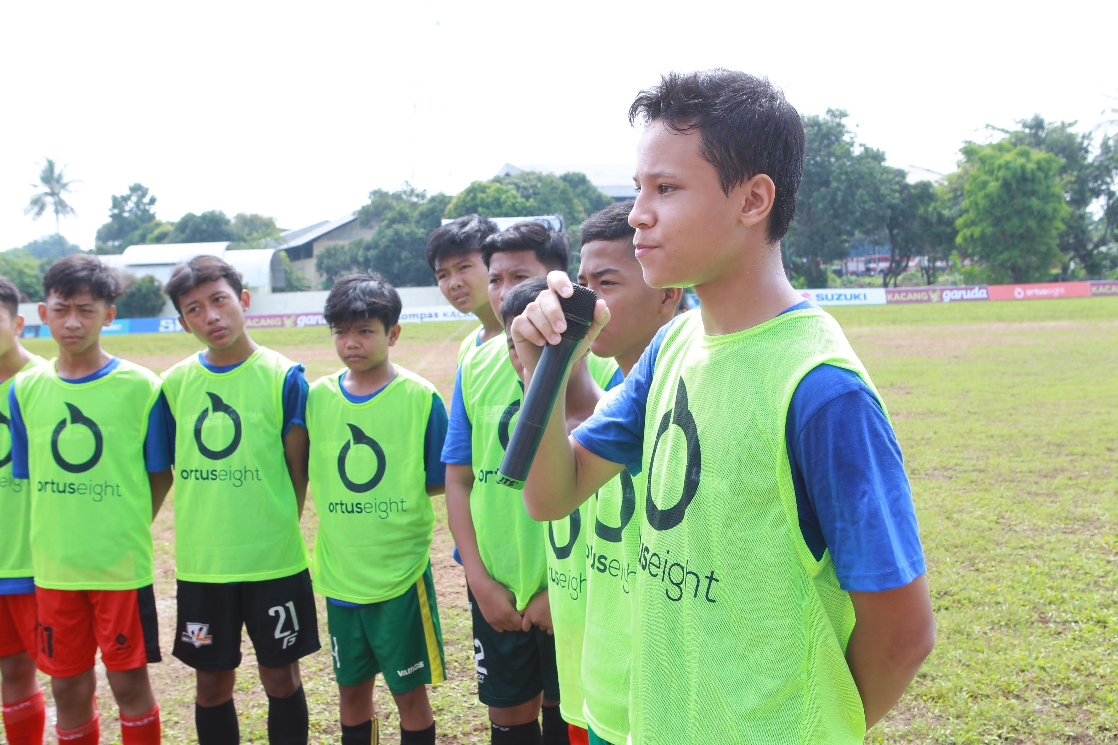 Galeri Foto Coaching Clinic with Coach Jacksen Tiago
